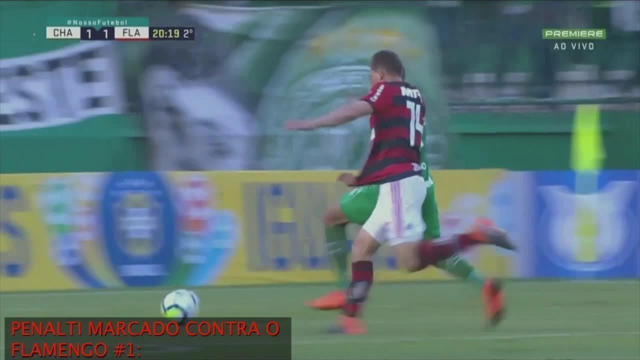 Flamengo envia vídeo para CBF com reclamações contra arbitragem