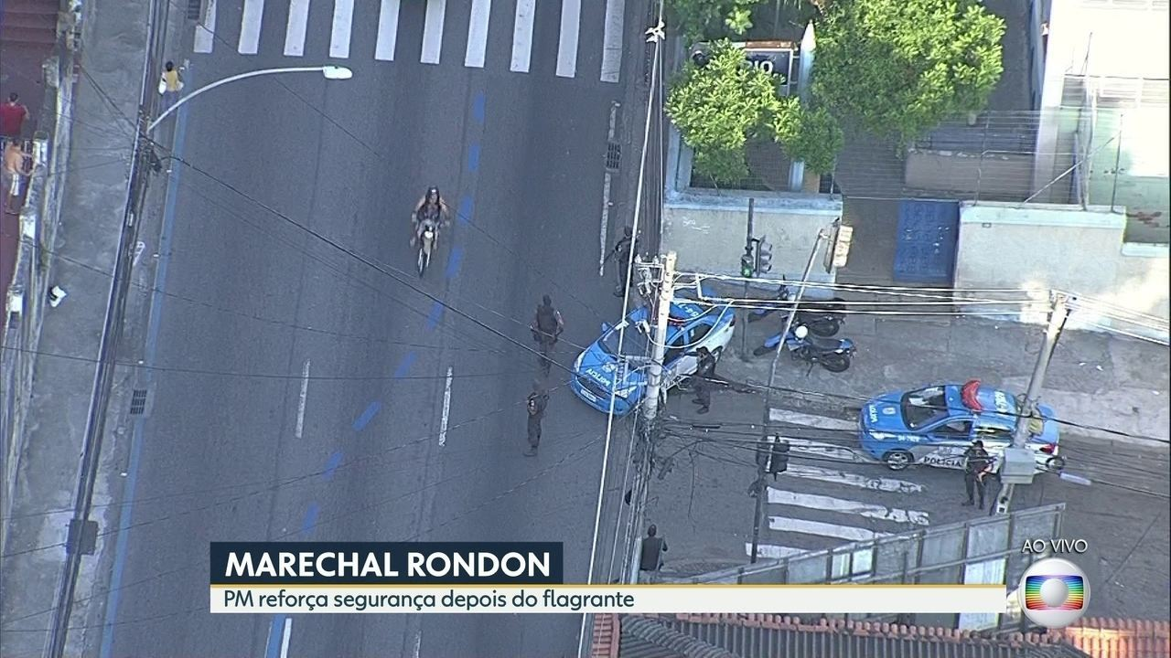 Após assalto a motociclista viralizar, policiamento é reforçado na Marechal Rondon
