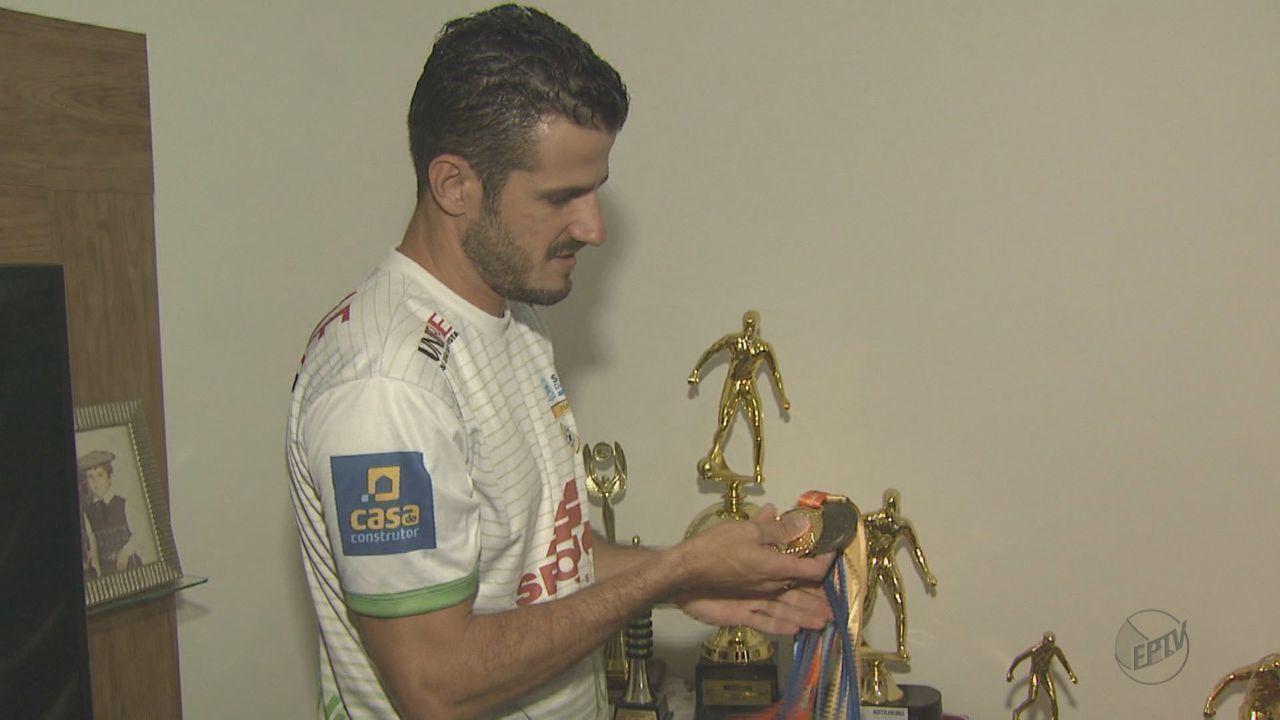 Atual artilheiro da Taça EPTV de Futsal fala sobre a expectativa para disputar a final
