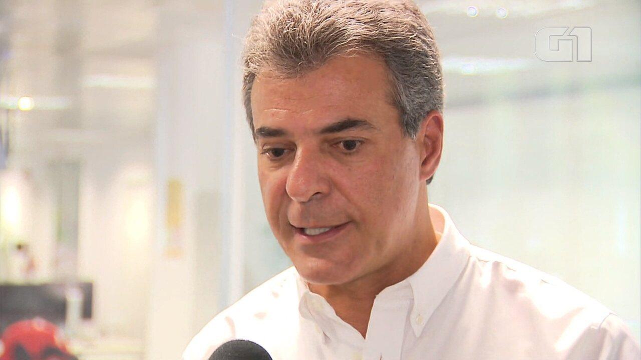 Beto Richa fala sobre envio de ação do STJ para Moro