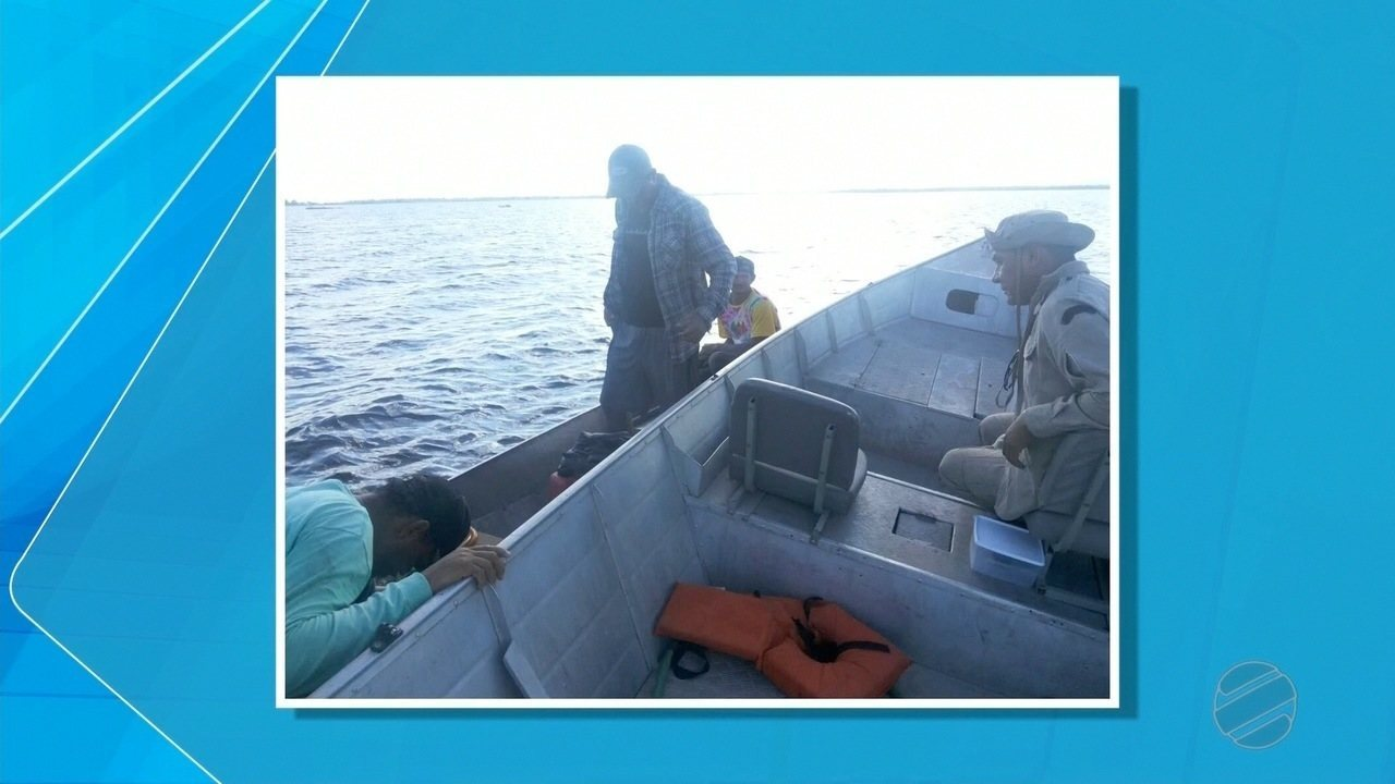Dois pescadores são resgatados após ficarem perdidos em baía do Pantanal