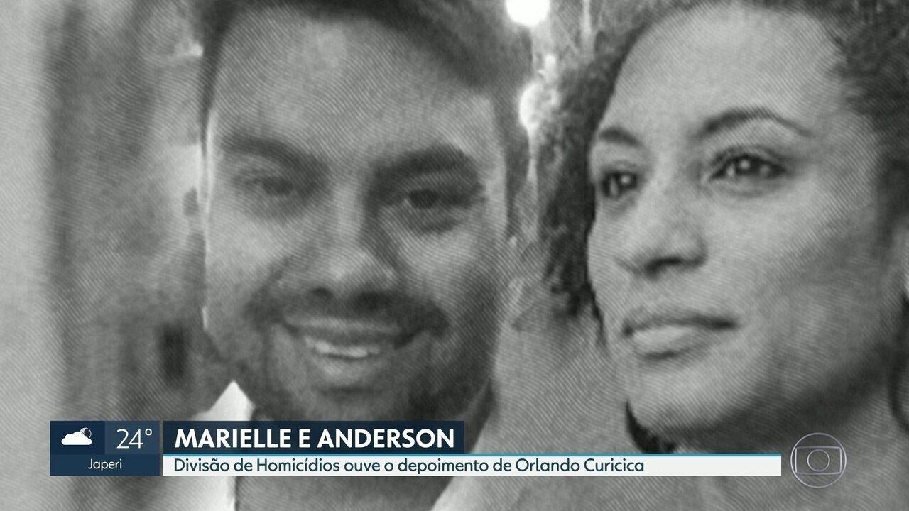Caso Marielle e Anderson: DH ouve o depoimento do ex-PM Orlando Oliveira de Araújo