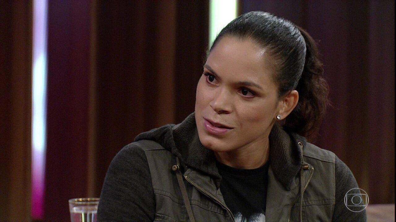 Amanda Nunes fala sobre suas fraquezas e sobre apoio da namorada