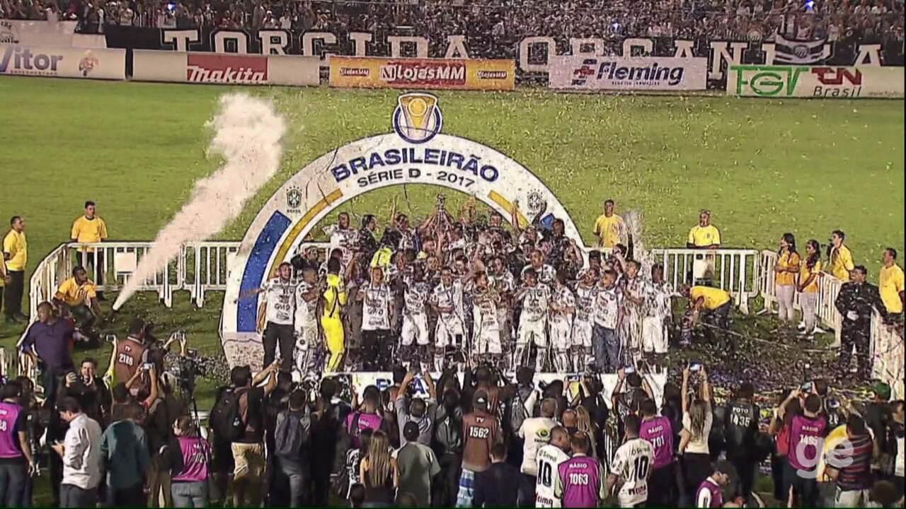 Veja os gols e a festa de Operário-PR 7 x 0 Cascavel pela final da Segundona do Paranaense