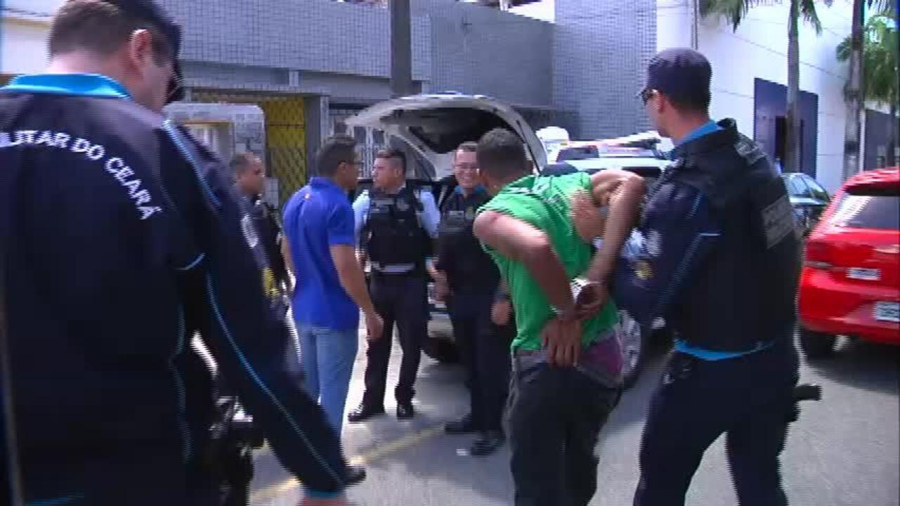 População prende suspeito de assalto a ônibus em Fortaleza