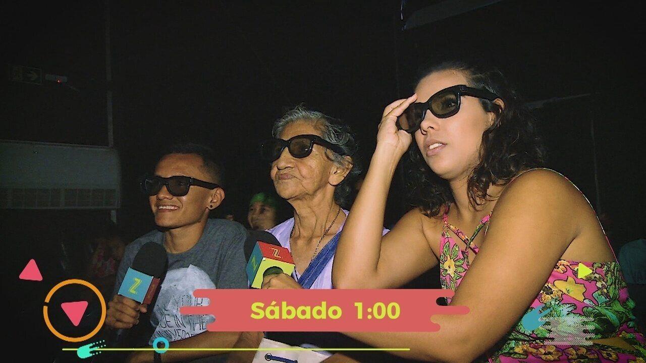 Zapp tem cinema 3D