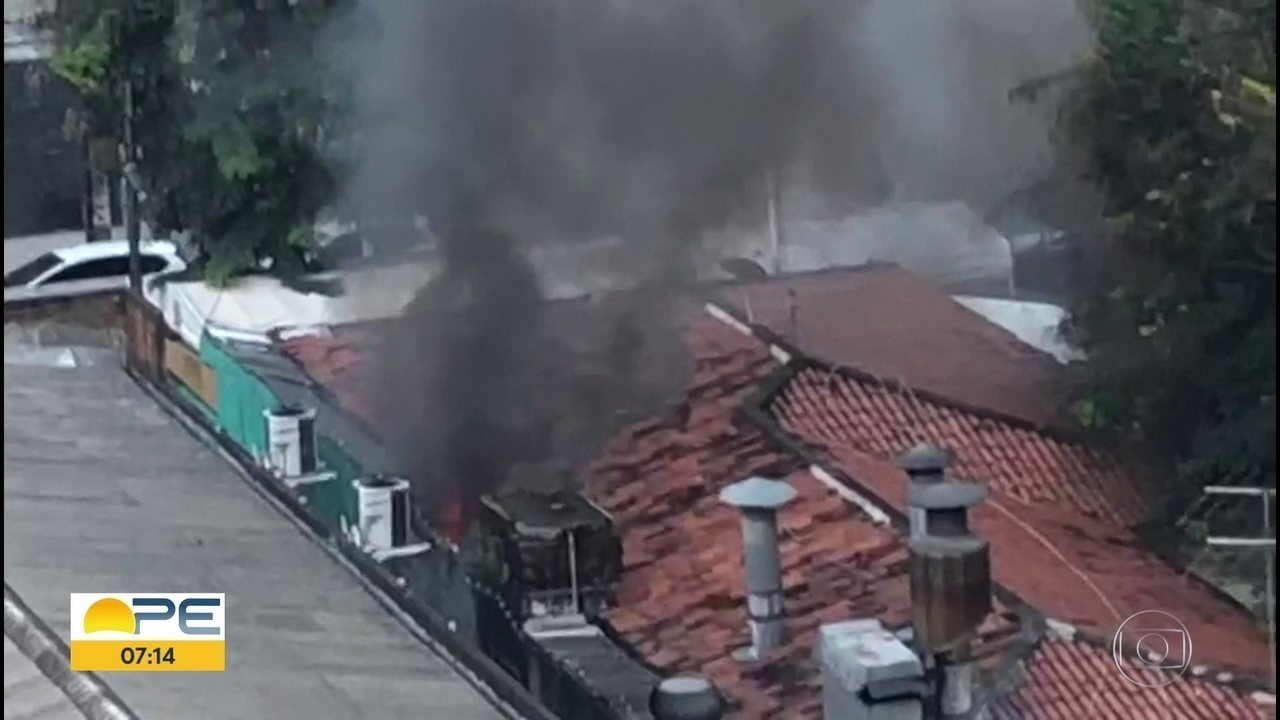 Incêndio atinge restaurante da Zona Norte do Recife