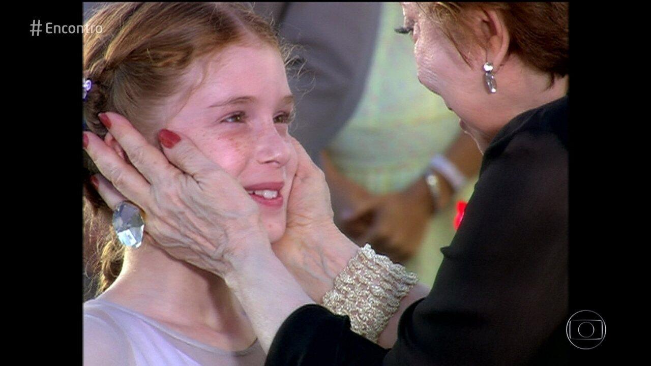 Marina Ruy Barbosa relembra gravações de 'Belíssima' aos 10 anos