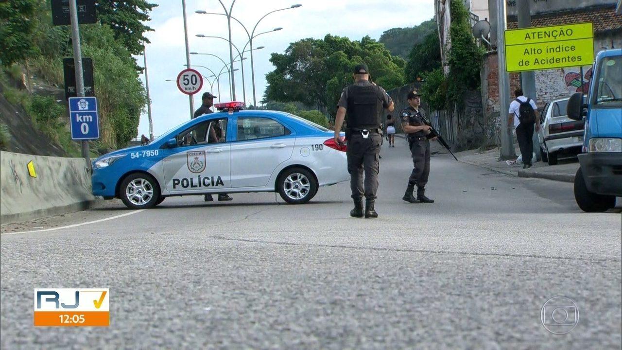 Polícia e Forças do Exército realizam operação no Complexo do Lins e Praça Seca