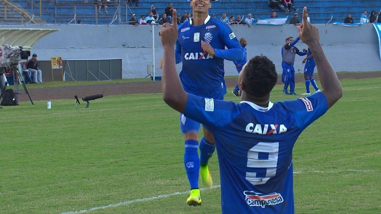 Os gols de Londrina 1 x 2 CSA pela 6ª rodada da Série B