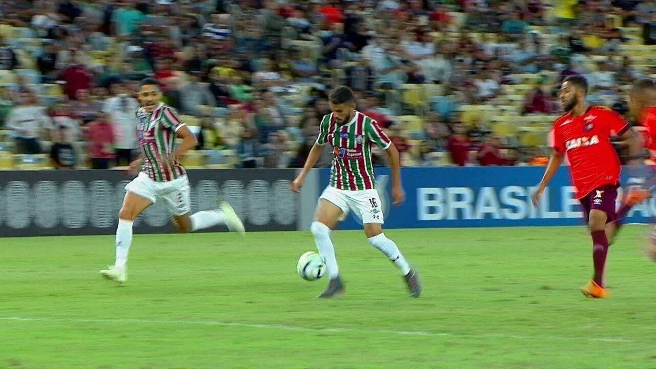 00fdb4872e Melhores momentos  Fluminense 2 x 0 Atlético-PR pela 6ª rodada do  Brasileirão