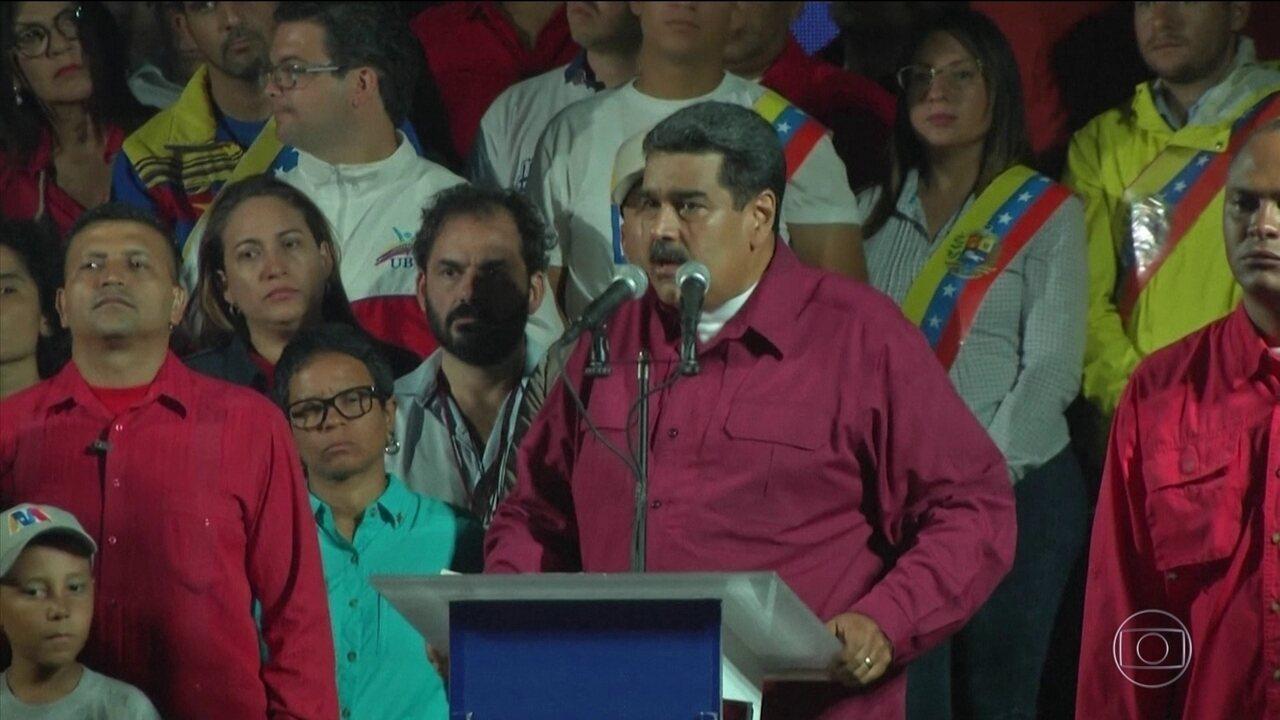 Sob denúncias de fraude, Maduro é reeleito presidente da Venezuela