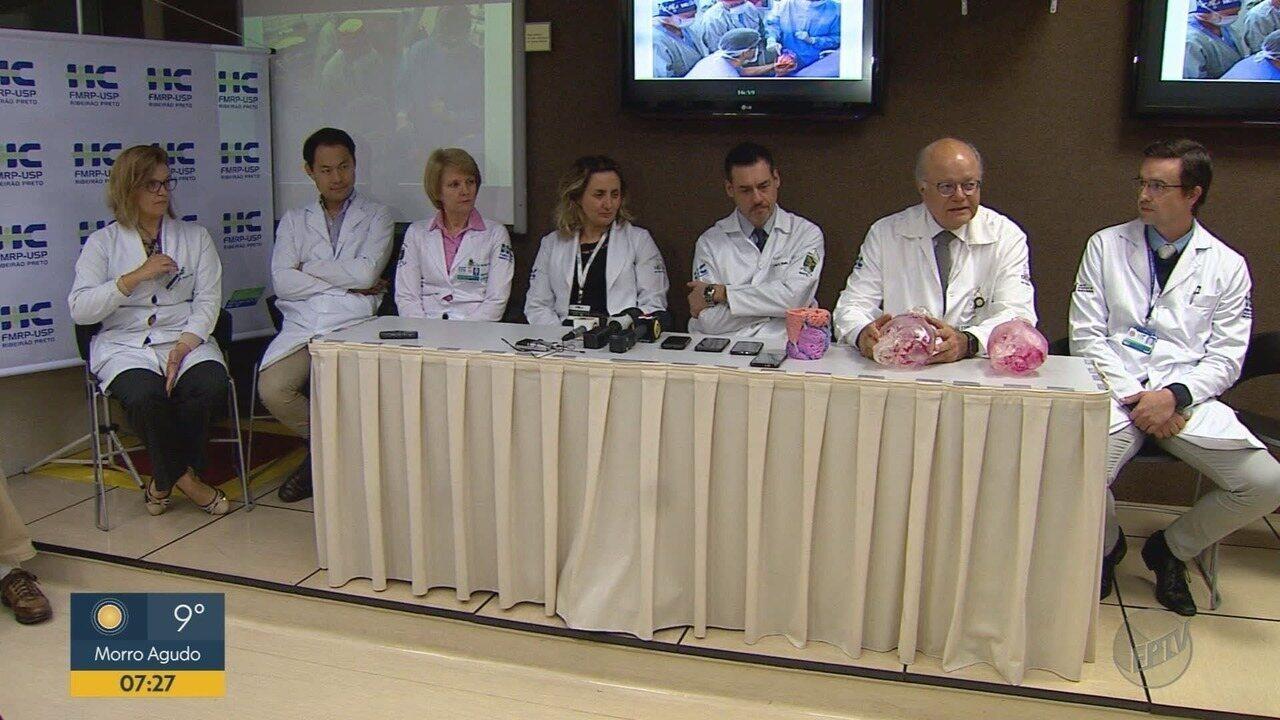 Médicos anunciam resultado da segunda cirurgia de irmãs siamesas em Ribeirão Preto, SP