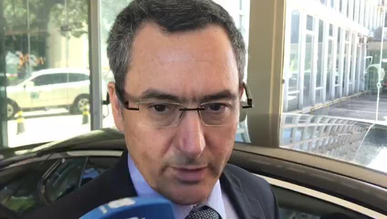 O ministro da Fazenda, Eduardo Guardia, falou com jornalistas sobre preço dos combustíveis