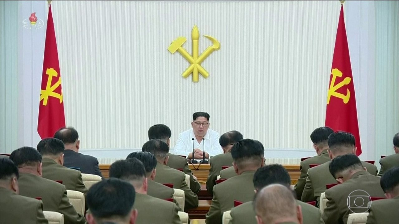 Trump se reúne com presidente sul-coreano para discutir encontro com ditador Kim Jong-un