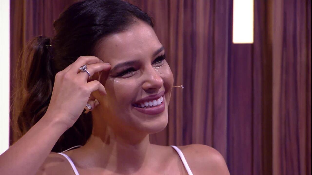 Mariana Rios comenta como foi homenagem da sua família