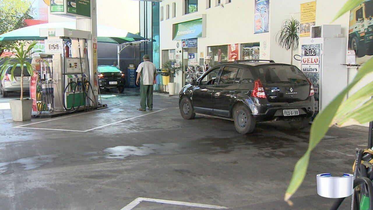 Manifestação dos caminhoneiros gera falta de combustível nos postos da região