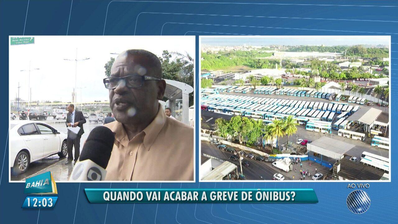 Greve: representante dos rodoviários fala sobre a frota mínima que não foi às ruas