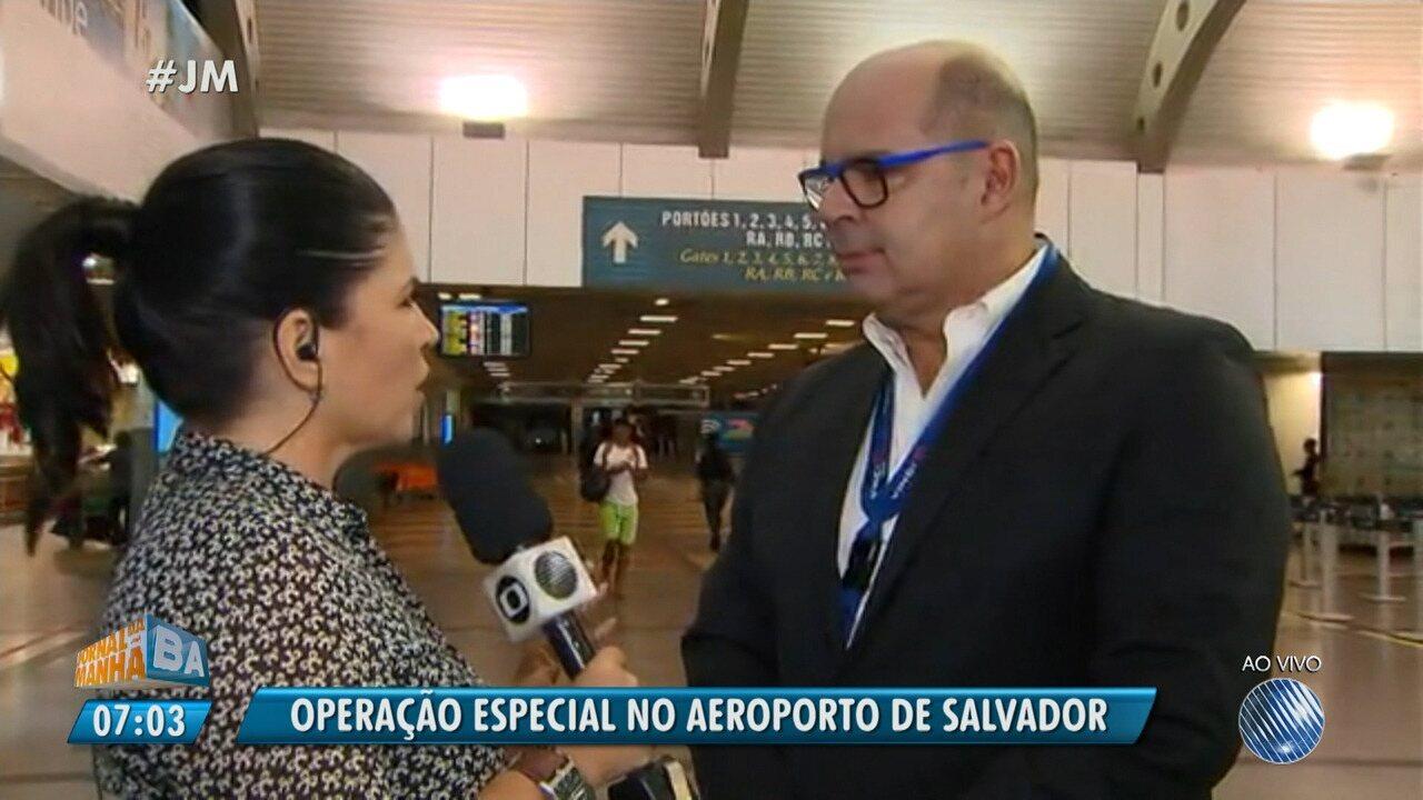Greve de caminhoneiros: aeroporto monta esquema especial para abastecer aviões em Salvador