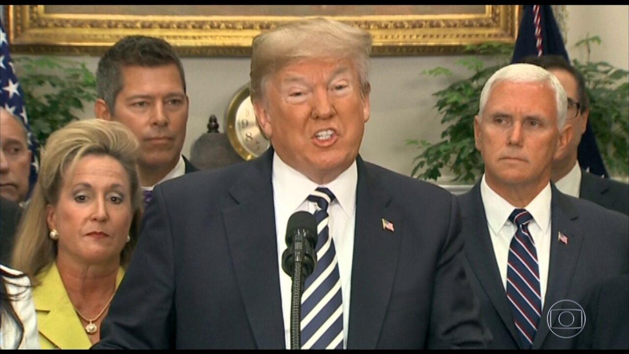 Trump cancela reunião com Kim Jong-un