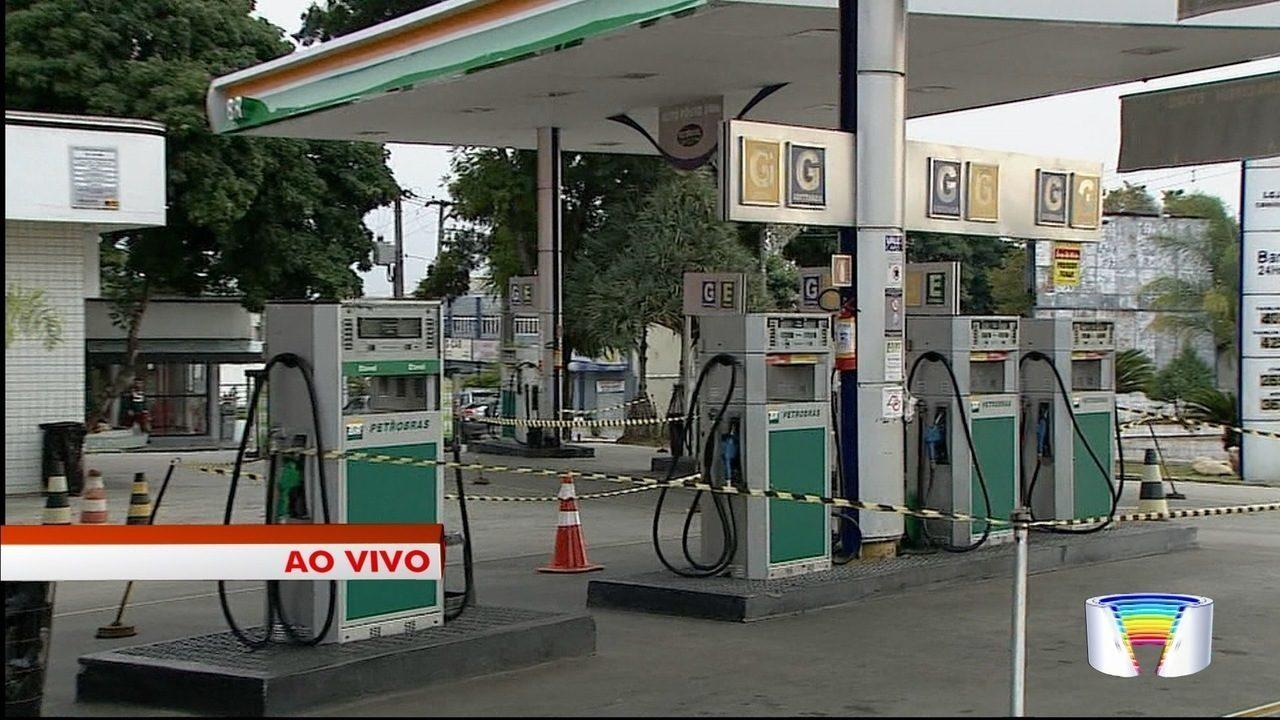 Muitos postos estão sem combustíveis em Taubaté