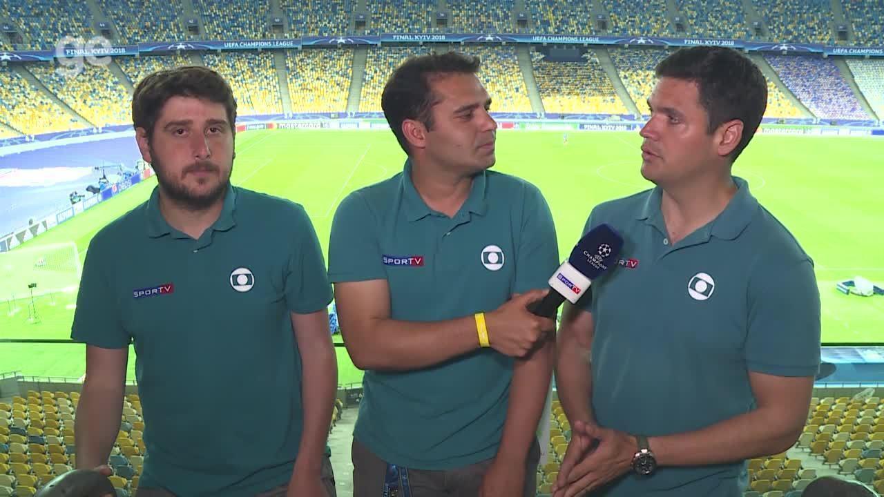 Jornalistas falam sobre as expectativas para final entre Liverpool e Real  Madrid ce03353c306fa