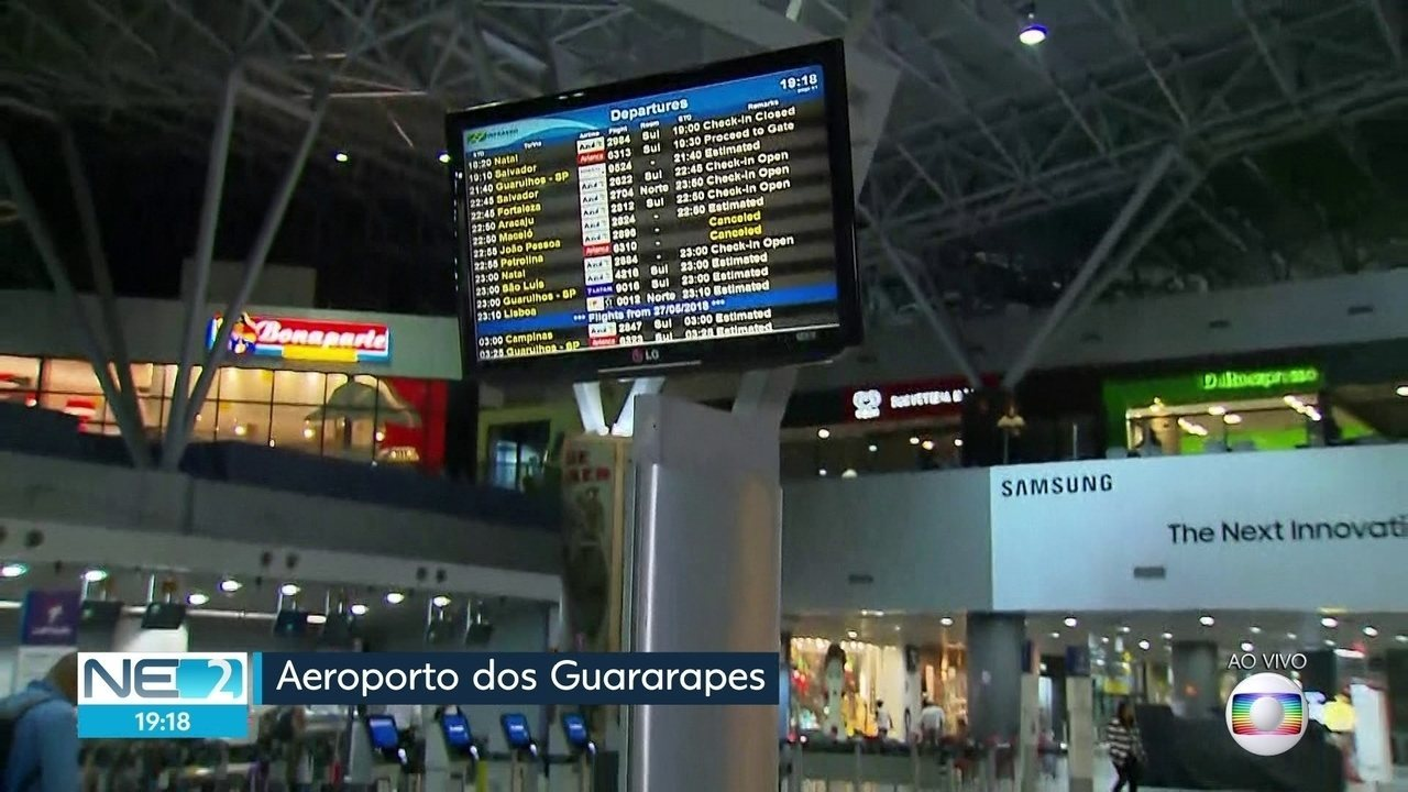 Aeroporto do Recife tem 13 voos cancelados por desabastecimento de combustível neste sábado (26)