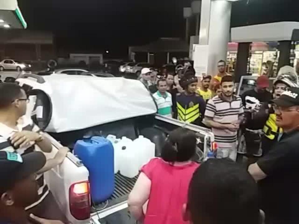 Abastecimento provoca discussão em posto de combustíveis de Maceió