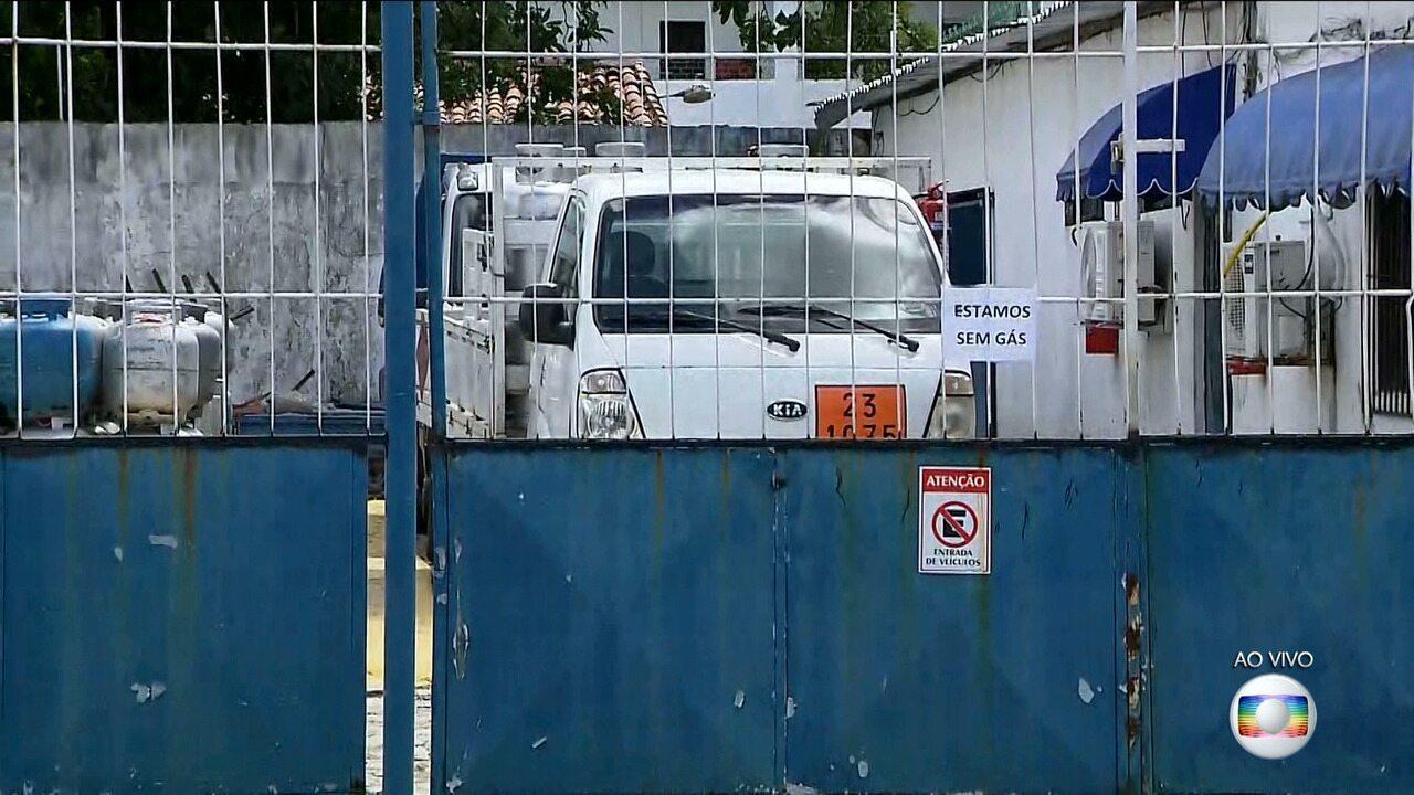 Paralisação de caminhoneiros afeta distribuição de gás de cozinha na Paraíba