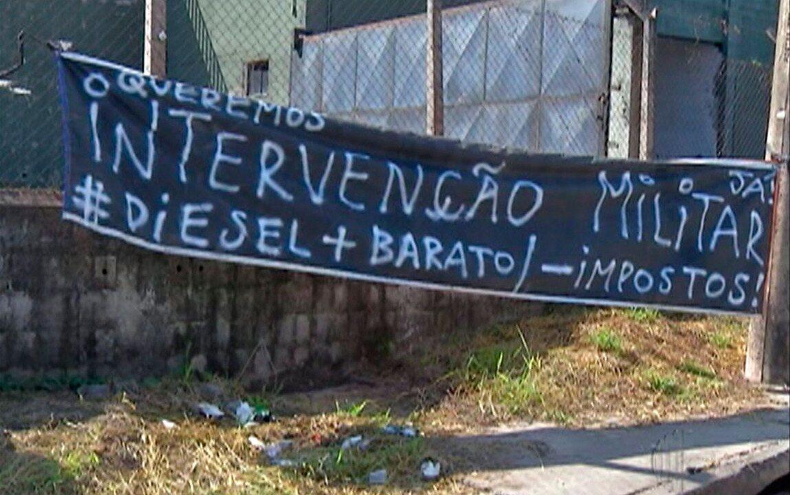 Alto Tietê sente os reflexos do oitavo dia de greve dos caminhoneiros