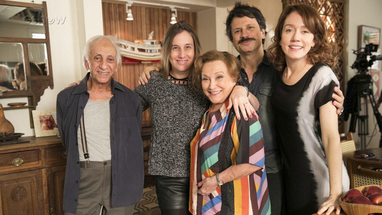 Nicette Bruno e Flávio Migliaccio fazem participação especial em Malhação