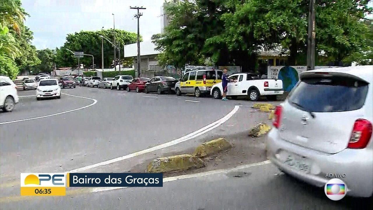 Grande Recife tem longas filas em postos de combustíveis
