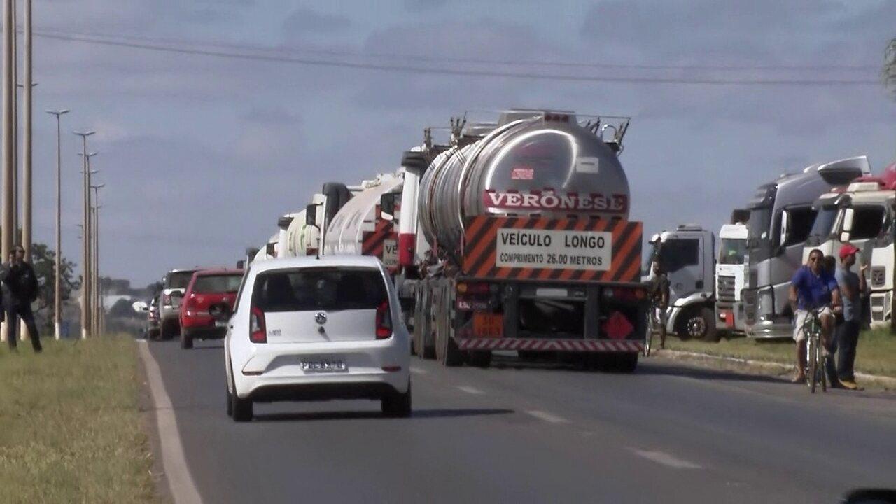 Confira estradas que ainda estão com pontos de bloqueios pelo país
