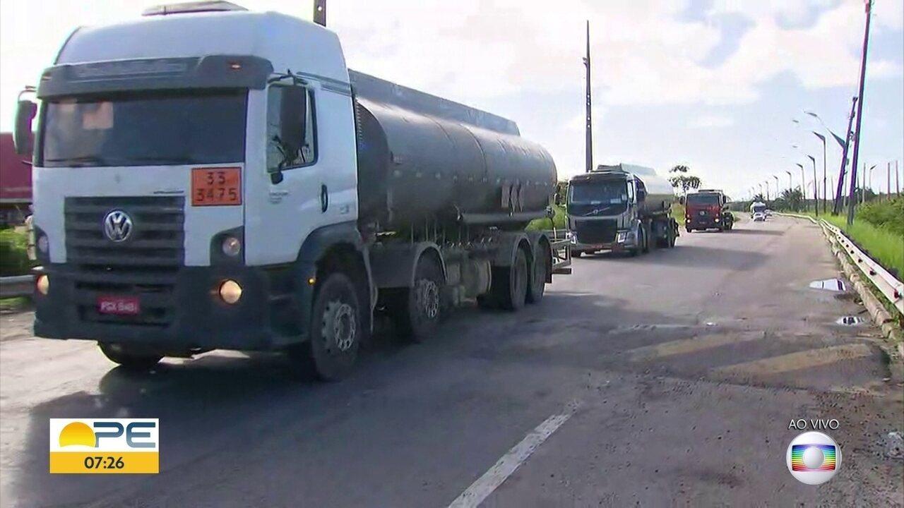 Porto de Suape tem entrada e saída liberada após ação da Polícia Militar