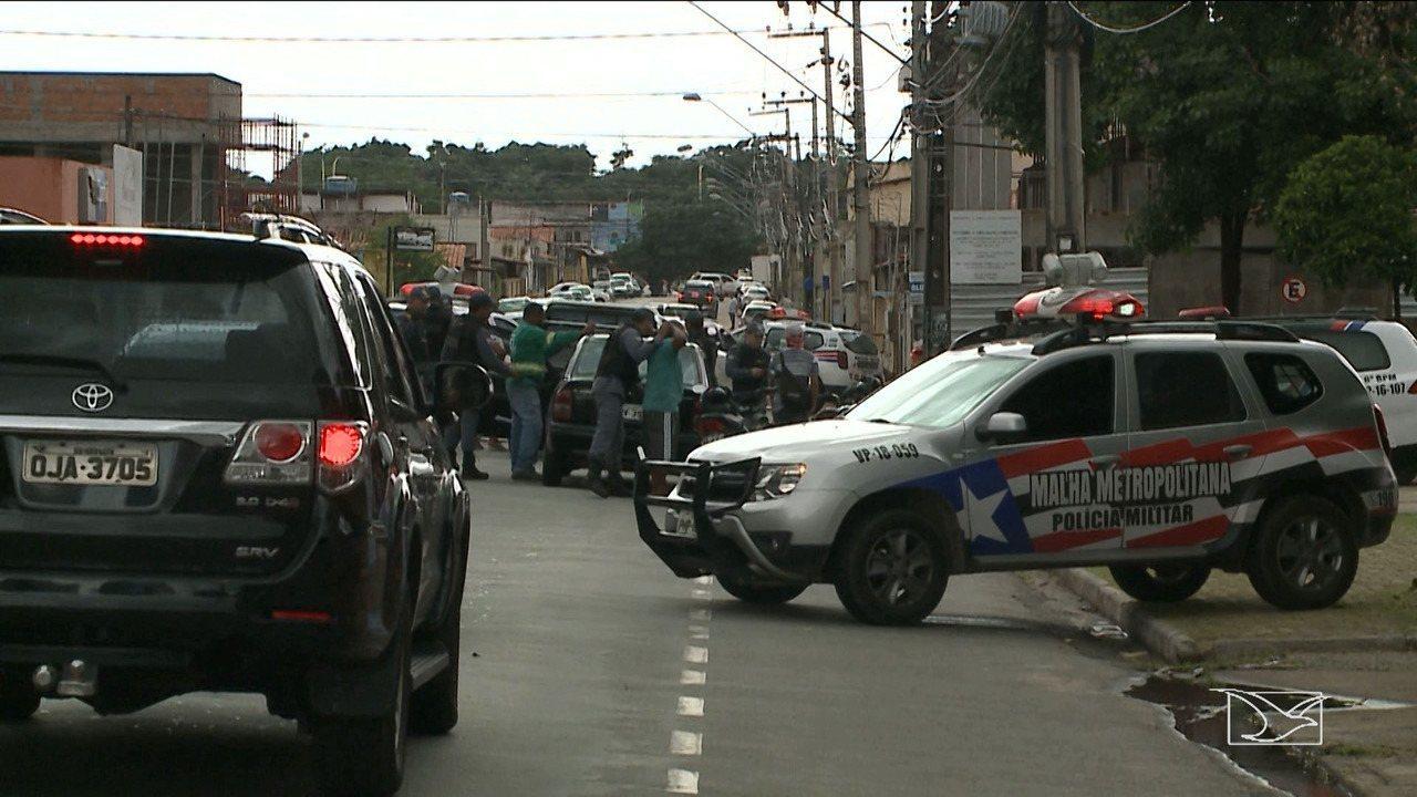 Polícia Militar realiza operação em bairro de São Luís
