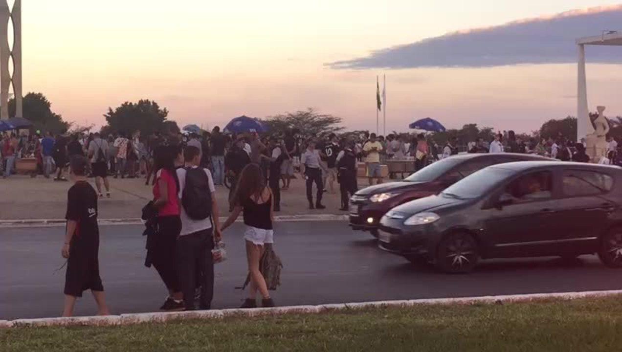 Marcha da Maconha em Brasília: 2 mil pessoas foram até o STF pedir pressa no julgamento da descriminalização de usuários