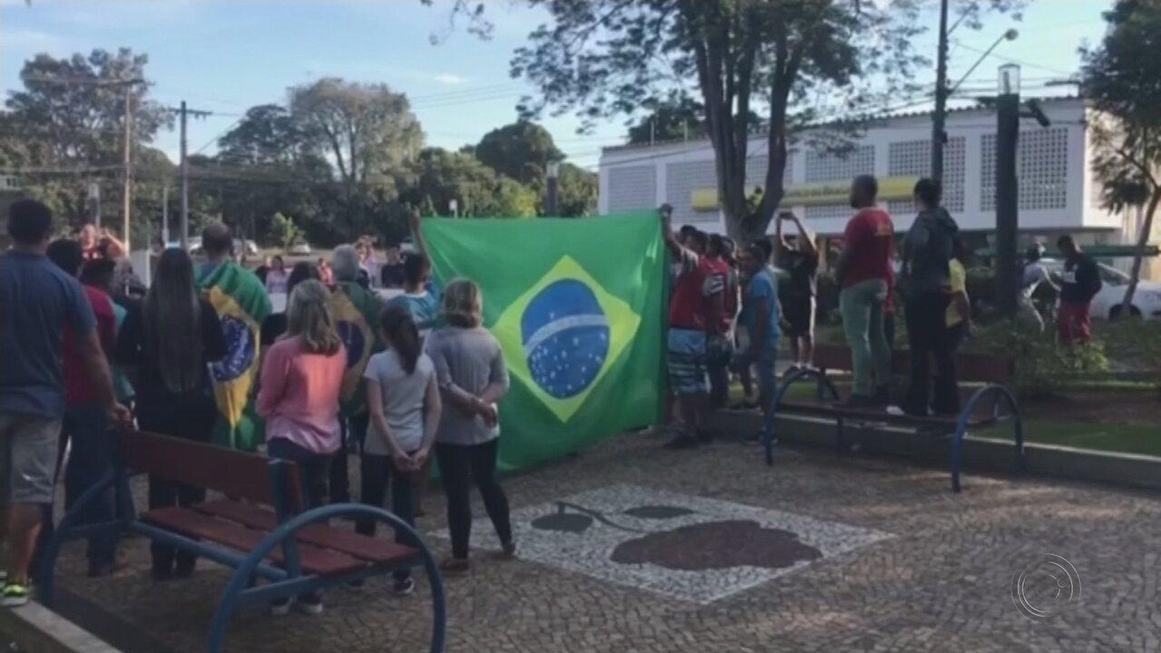 Comerciantes de Cerquilho fecham lojas após ameaças de depredação durante protesto