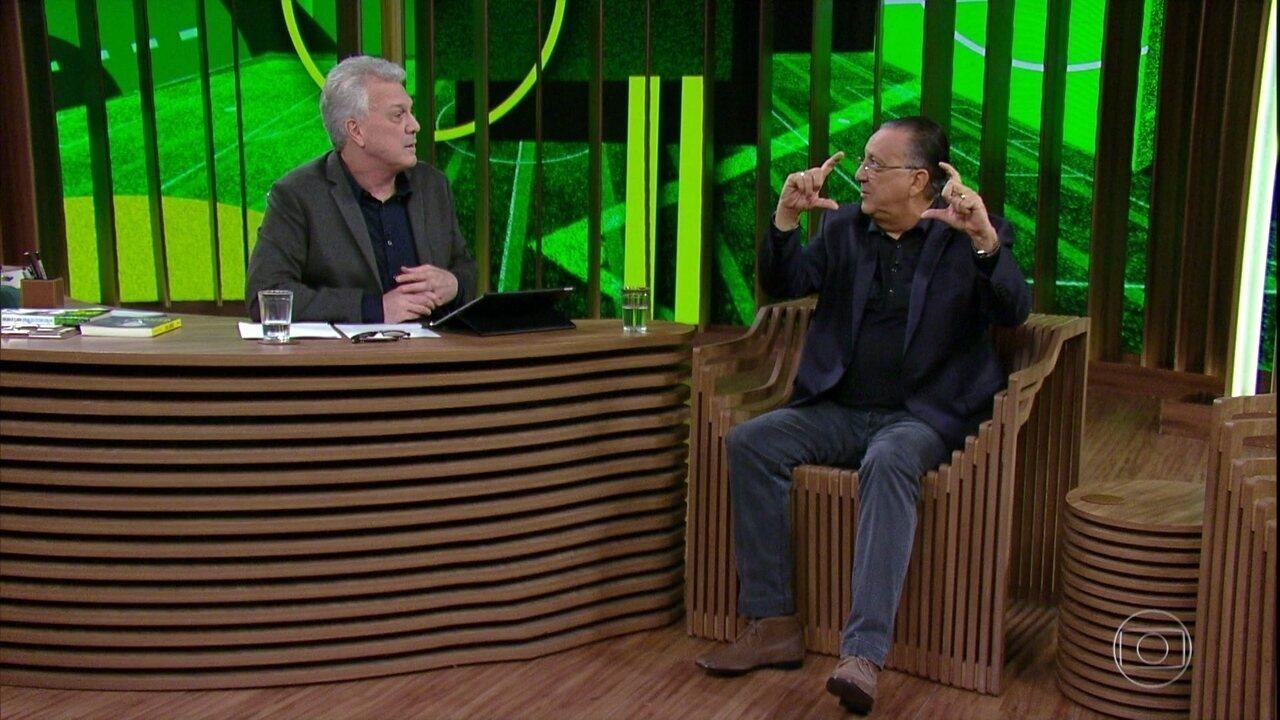 Galvão Bueno relembra Copa de 74