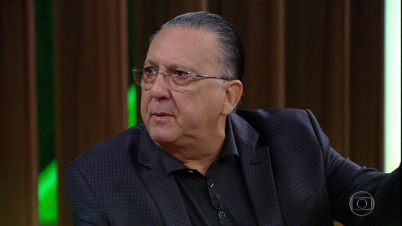 Galvão Bueno relembra com tristeza do acidente com avião da Chapecoense