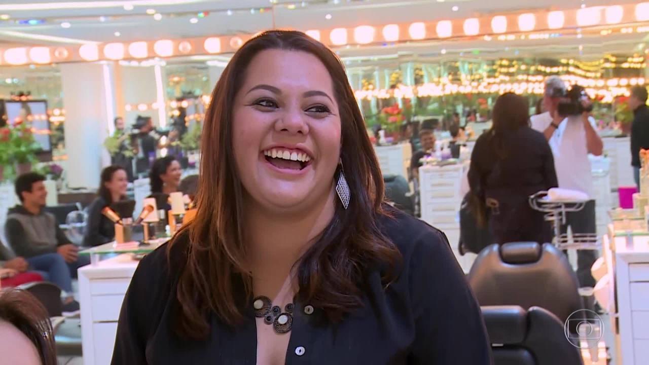 Mariana Rocha participou do 'Mandando Bem'