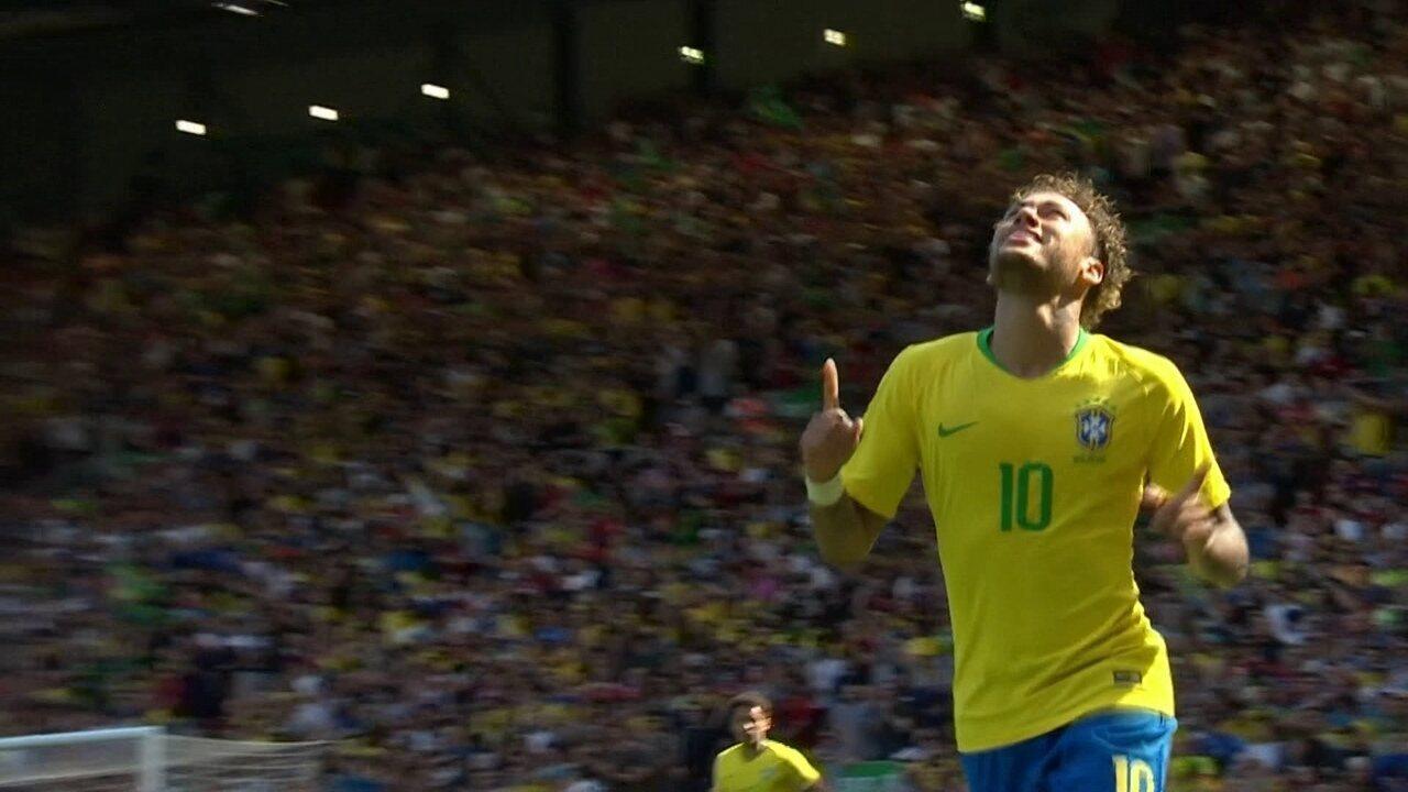 Melhores momentos: Brasil 2 x 0 Croácia em amistoso internacional de futebol