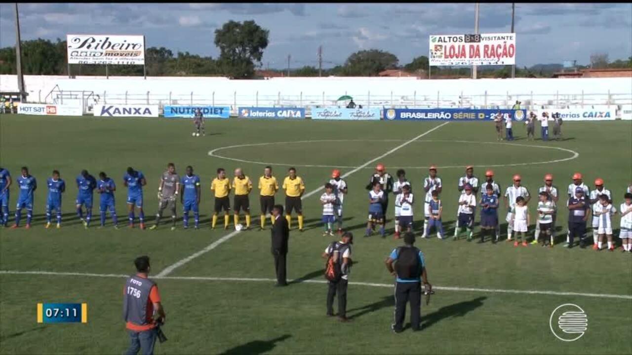 Altos goleia Nacional-AM na segunda fase da Série D; veja os gols do jogo