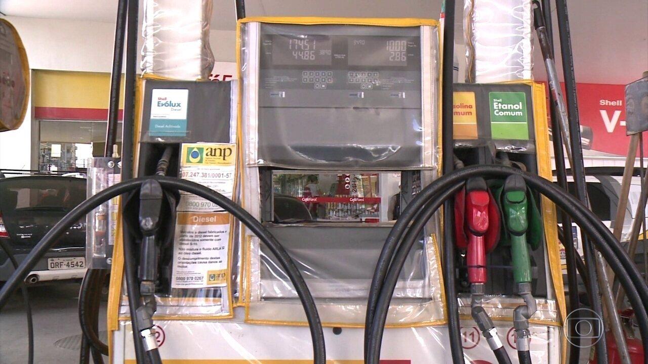 Motoristas ainda encontram diesel sem a redução de R$ 0,46