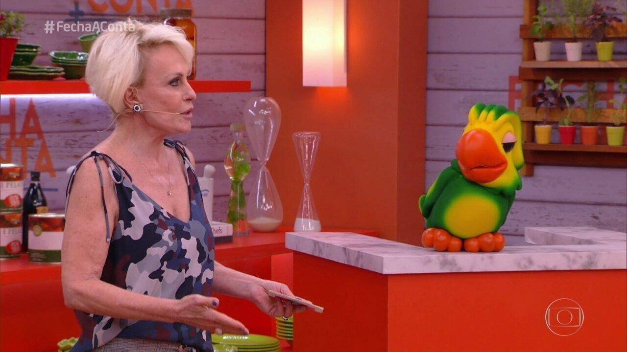 Ana Maria anuncia o primeiro eliminado do 'Fecha a Conta'