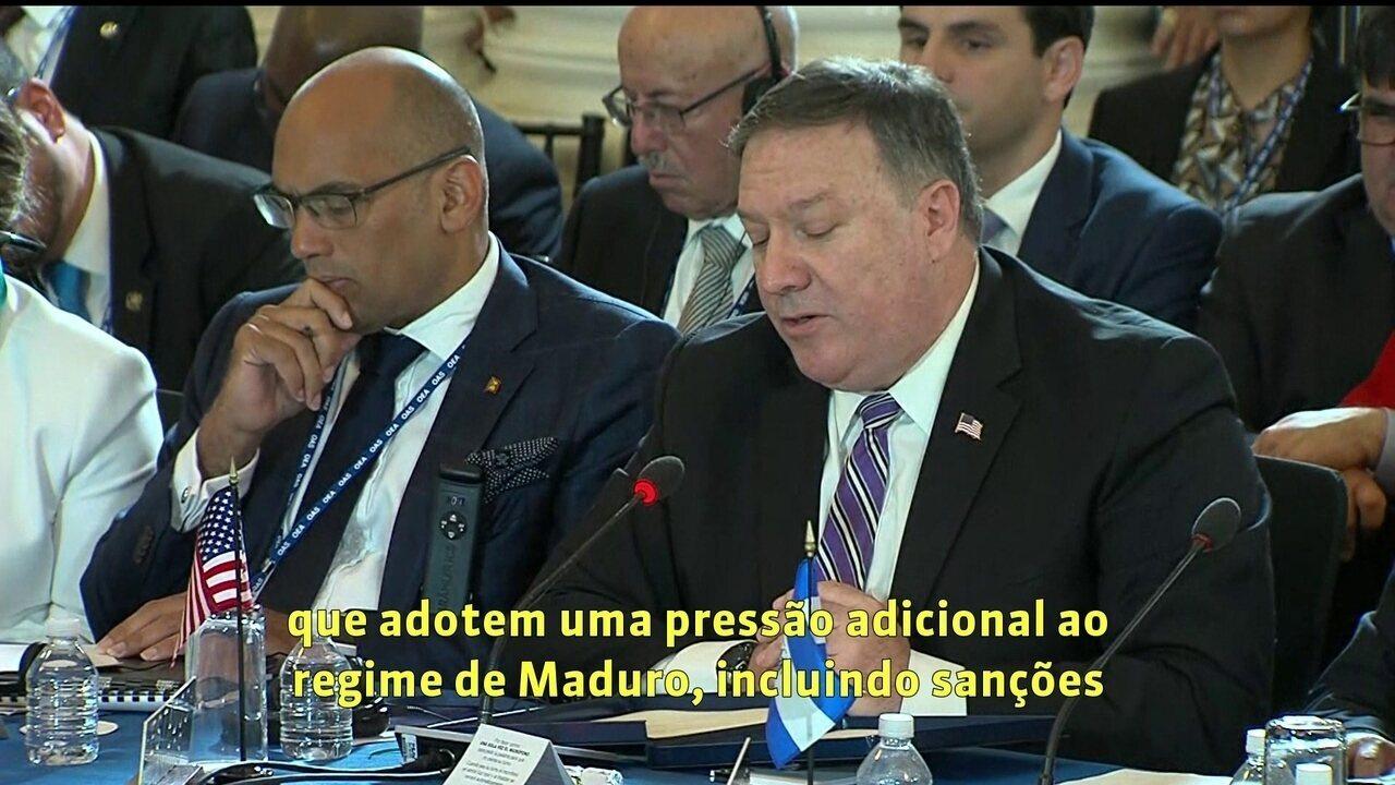 Cresce apoio na OEA à suspensão da Venezuela