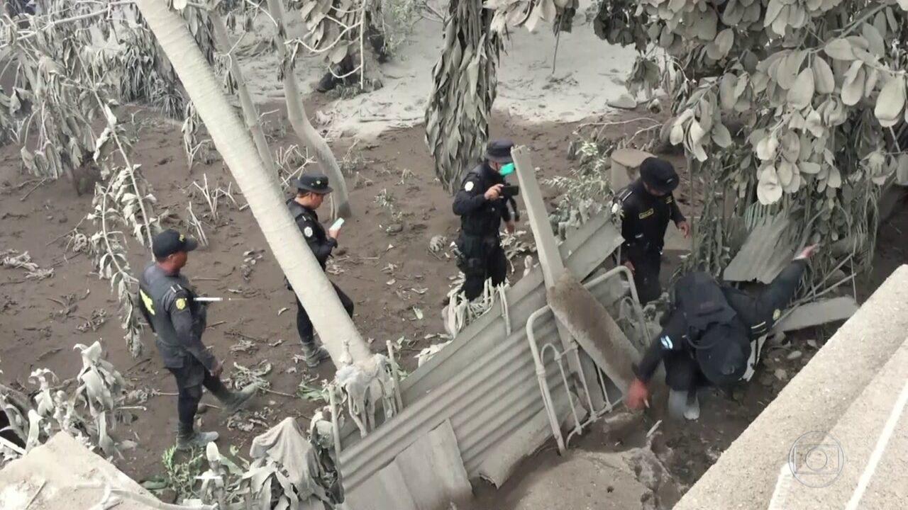 Na Guatemala, 62 morrem em erupção de vulcão