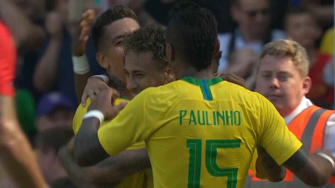 Brasil 2 x 0 Croácia - Amistoso - Melhores Momentos