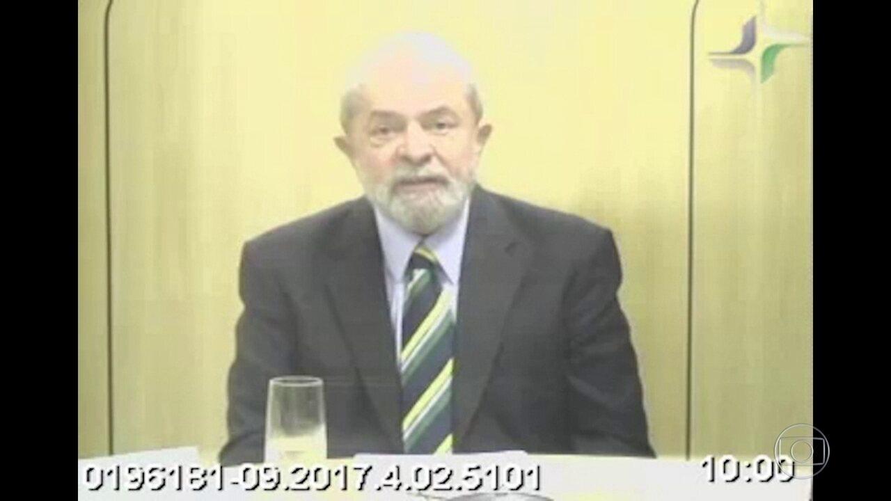 Lula depõe na Lava Jato como testemunha de defesa de Cabral