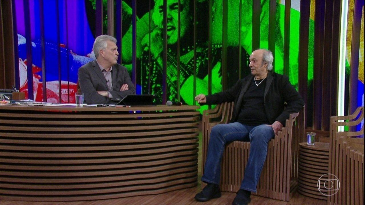 Erasmo Carlos fala sobre filme com Chay Suede