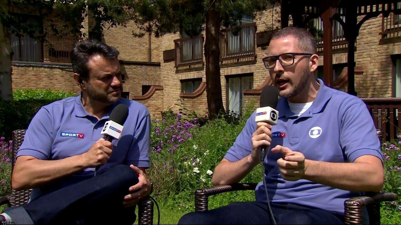 Eric Faria e Alexandre Lozetti comentam recuperação de Renato Augusto